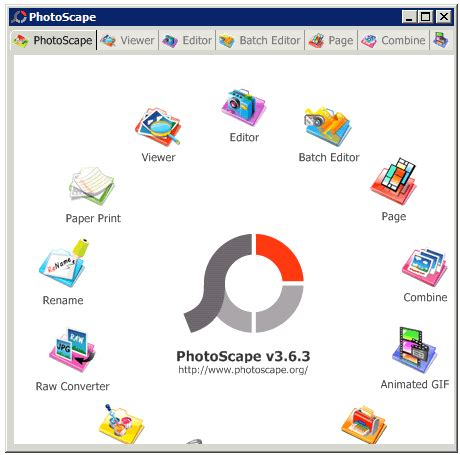 Online Photoscape on Mac, iPhone, iPad, Android