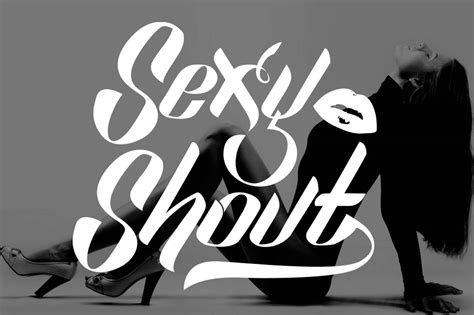 Sexy Shout Font - Befonts