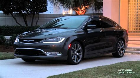 All- New 2015 Chrysler 200 Design Feature - YouTube