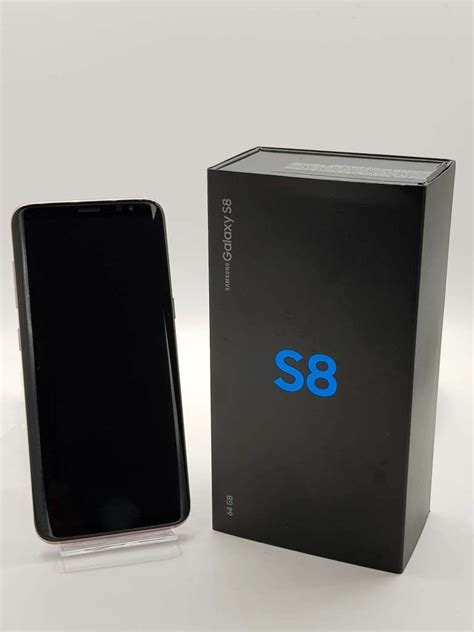 Samsung Galaxy S8 Rose Pink 64GB   Blue Mobile Phone