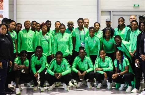 FIFA Women's World Cup: Super Falcons Arrive Rennes For