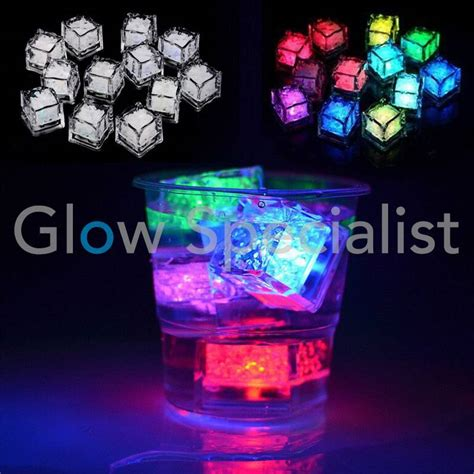 LED ICE CUBES - COLOR ASSORTI - Glow Specialist - Glow