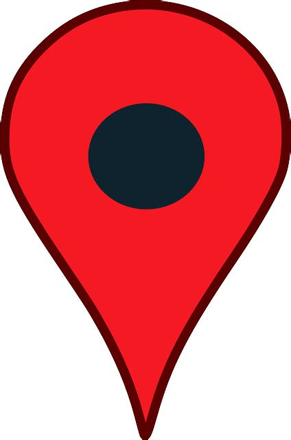 Location Pointer Pin Google - Free vector graphic on Pixabay