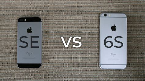 iPhone SE vs iPhone 6S - which should you buy? (2019