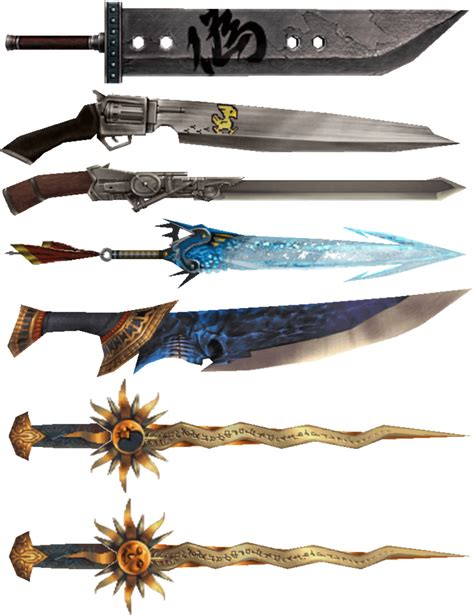 Final Fantasy: Which Sword Would You Wield? | hubpages