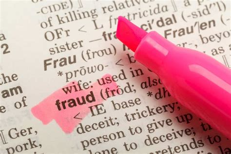 Don't Get Charged with One of These 6 Serious Types of Fraud