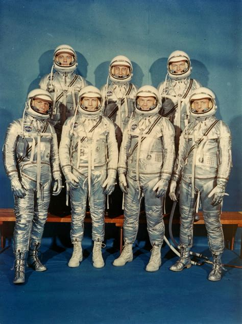 Picture Archive: First Seven Astronauts, 1962