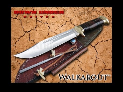 DUKCD Down Knives The Outback COUTEAU BOWIE CROCODILE