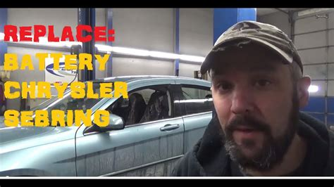 How To Replace Battery - Chrysler Sebring - YouTube