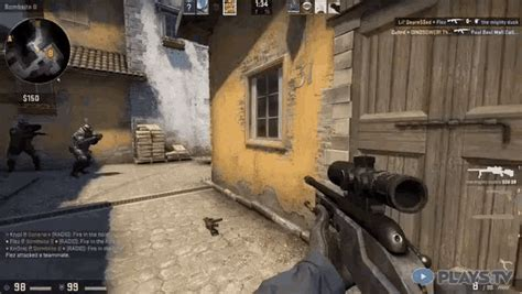3 Kill With One Snipe GIF - CSGO Clean Rekt - Discover