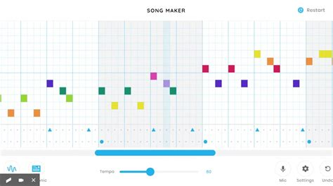 Chrome Music Lab Miss M's Jolly Song - YouTube