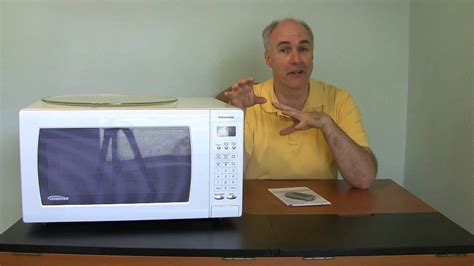 Panasonic Inverter Microwave- new technology review - YouTube