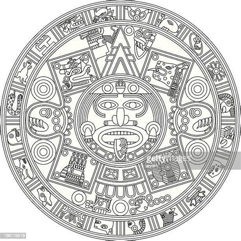 Mayan High Res Illustrations - Getty Images