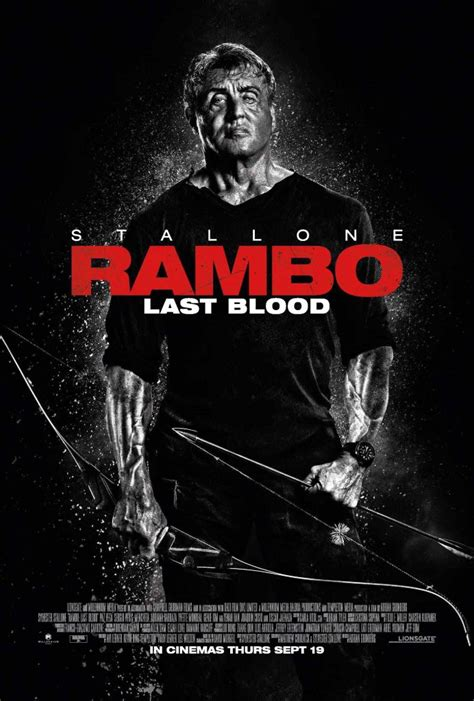 New Official Poster Lands For 'Rambo: Last Blood'
