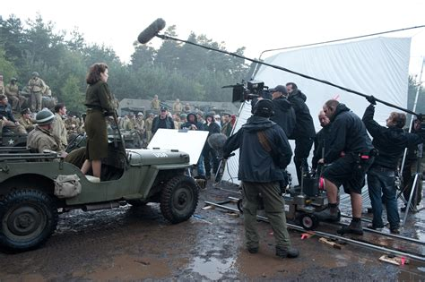 High-Res Captain America: The First Avenger Behind-The