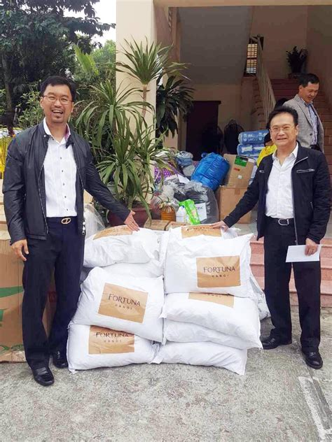 Charity contribution to Thuy An Centre for Nurturing Old