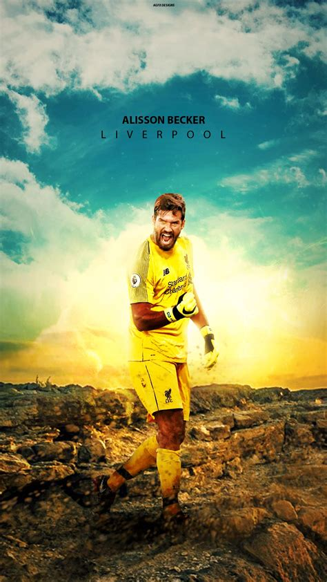 Alisson Becker HD Mobile Wallpapers at Liverpool FC