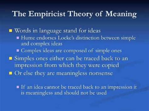 Hume 1: Empiricism and the A Priori - YouTube