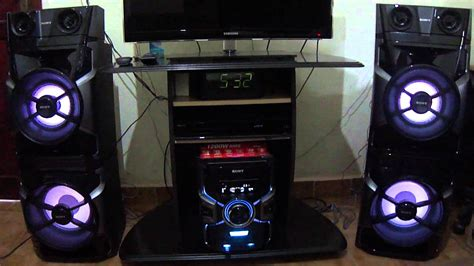 micro system sony mhc gpx8 - YouTube
